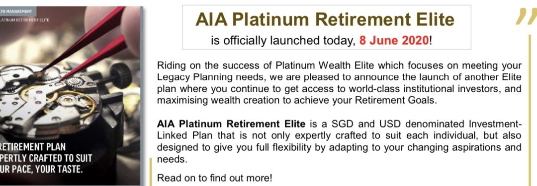 AIA Platinum Retirement Elite