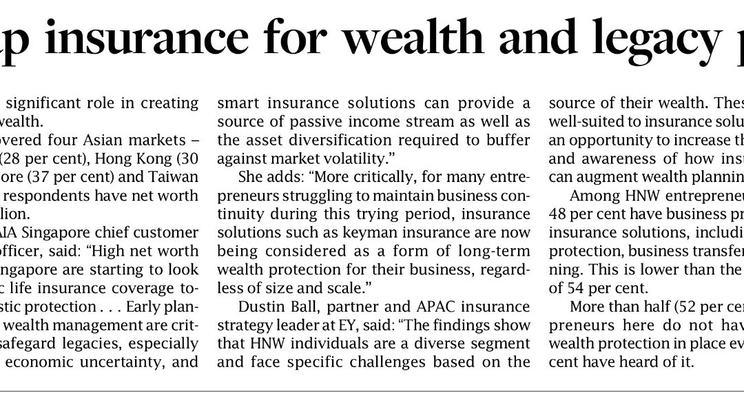 Insurance 4 Wealth/Legacy Planning