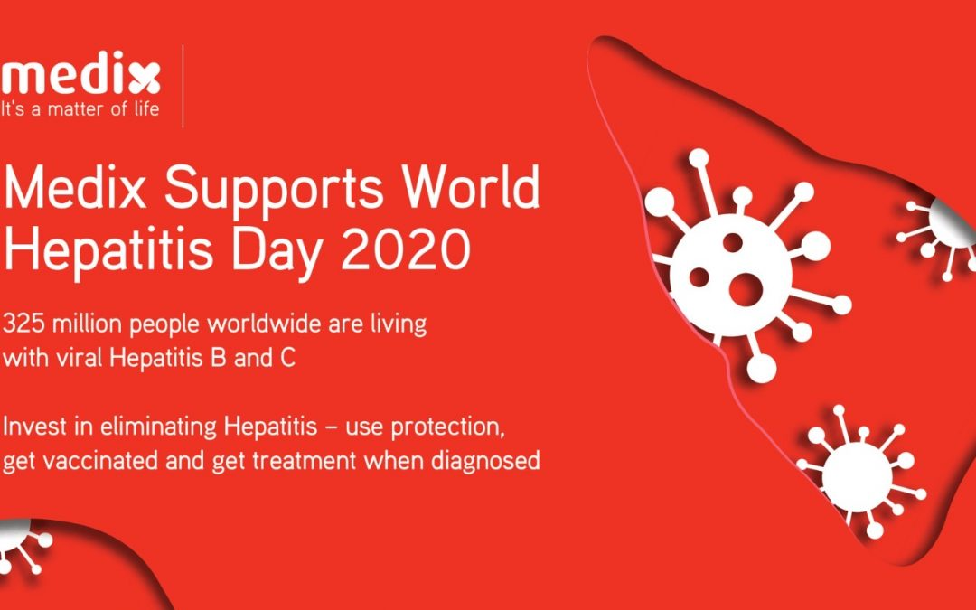 Medix supports World Hepatitis Day 2020