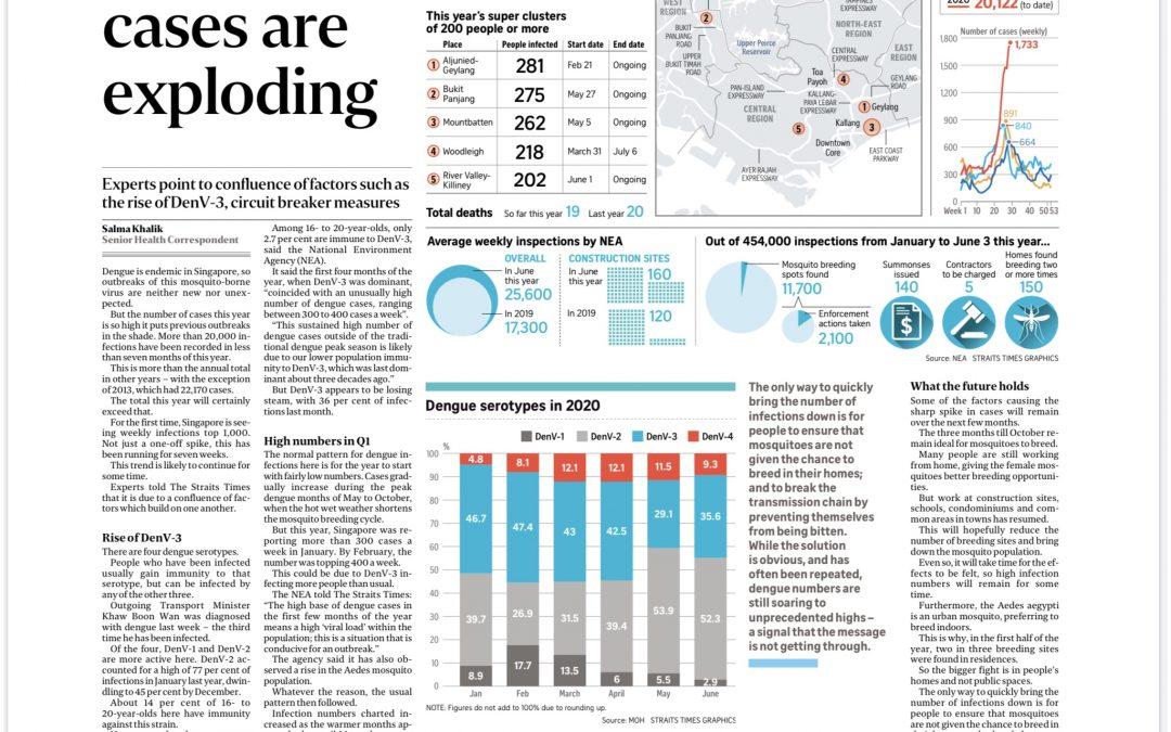 Singapore's Dengue Cases