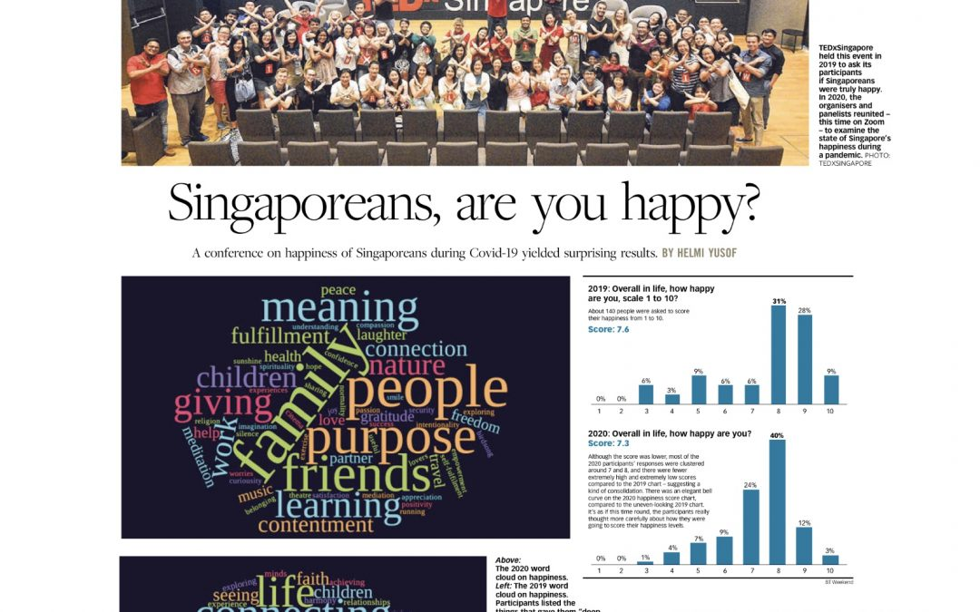 Are Singaporeans Happy?